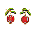 Pomegranate Earrings image