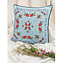 Hopsack Cushion Cover - The Strawberry Garden image