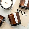 Big Amber Candle Bergamot Oil & Bamboo image