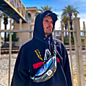Collection By Mandem Un Bolt Heavyweight Hooded Sweatshirt image