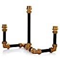 Pipework Candelabra Three Black image