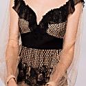 Lace Applique Dress image