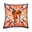 Saddle Silk Cushion image
