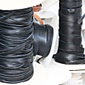 Gusto Key-Ring - Black Saffiano Leather image