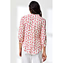 Delphine Top Cream Large Hiawatha Print image