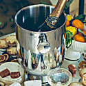 Trombone Champagne Cooler - Stainless Steel image