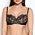 Abbie Black Lace Bra image