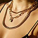 Gold Triple Layer Chain image