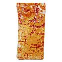 Abstract Orange Velvet Glasses Case image