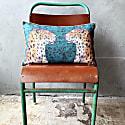 Hopsack Long Cushion - Staring Leopards image