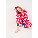 Kissing Rabbits Organic Cotton Jersey Pyjamas image