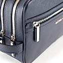 Edy Washbag - Navy Saffiano Leather image