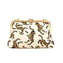 Sumatran Tiger Clutch, White image