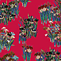 Red Lilies Shirt Dress image