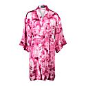 Rossellini Pink Galena 100% Silk Short Kimono image