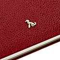 A4 Hard Cover (Hardy) Notebook The Rollo Collection Burgundy image