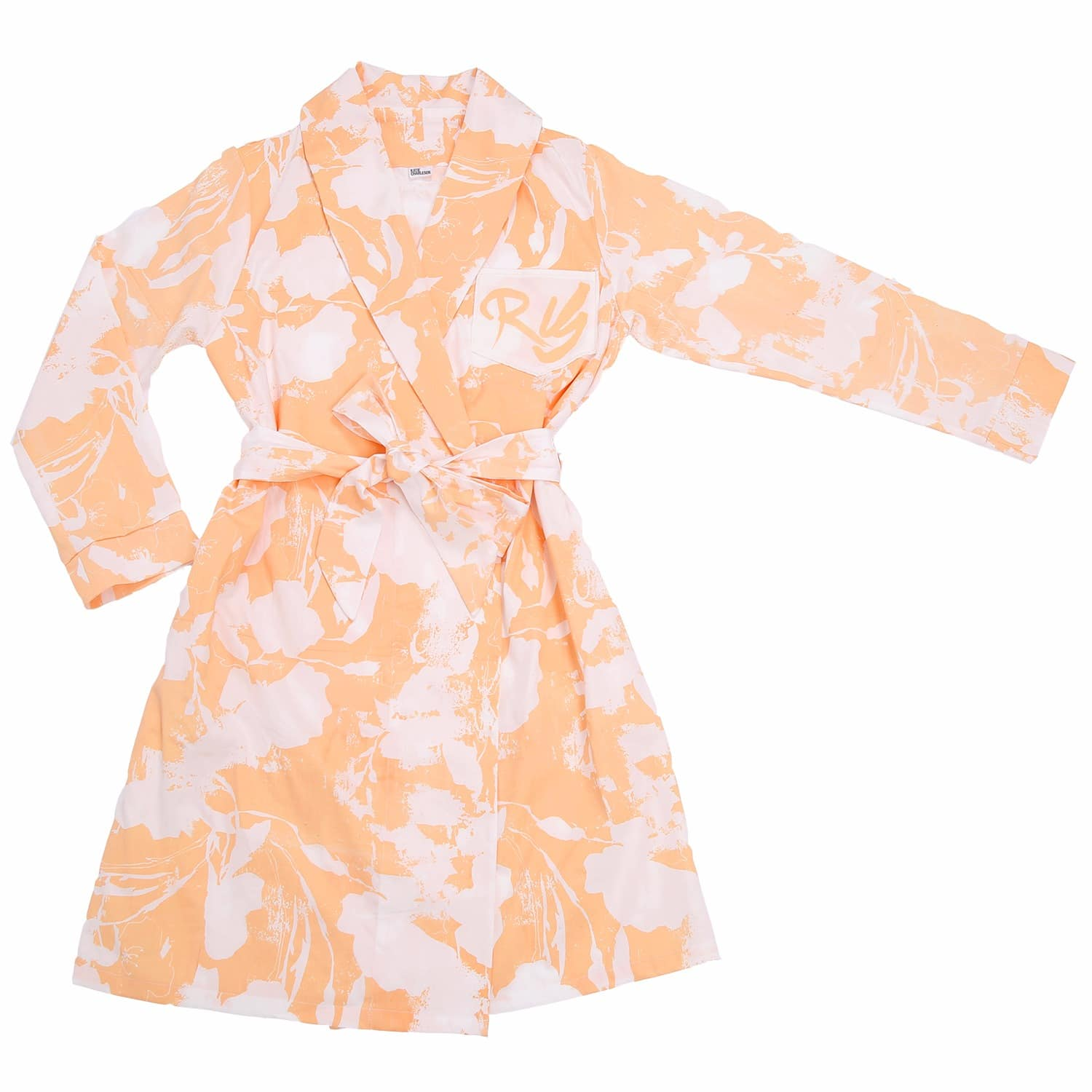 Amata Floral Dressing Gown   Katie Charleson   Wolf & Badger