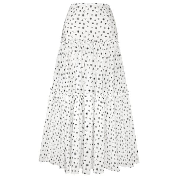 SIOBHAN MOLLOY Ellie Tiered Maxi Skirt
