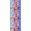 Chelsea Flowers -Blue -Modal Silk image