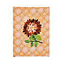 Dahlia Orange Small Canvas Artwork image