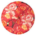 Coral Roses Sun Parasol image