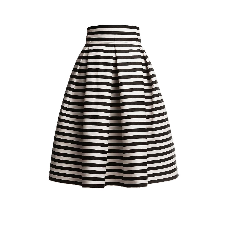 ee78f4e190 Amalfi Striped Midi Skirt | Rumour London | Wolf & Badger