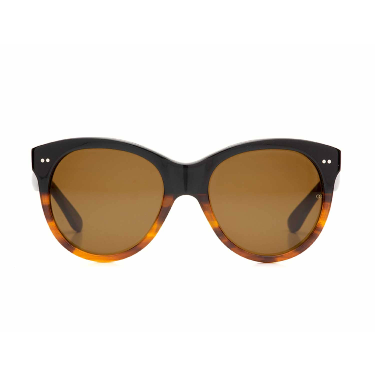 7c4e334375da Manhattan 1960 Caramel Split | Oliver Goldsmith Sunglasses | Wolf ...