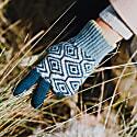 Teal Wave Gloves image