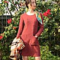 Rosewood Pocket Dress image