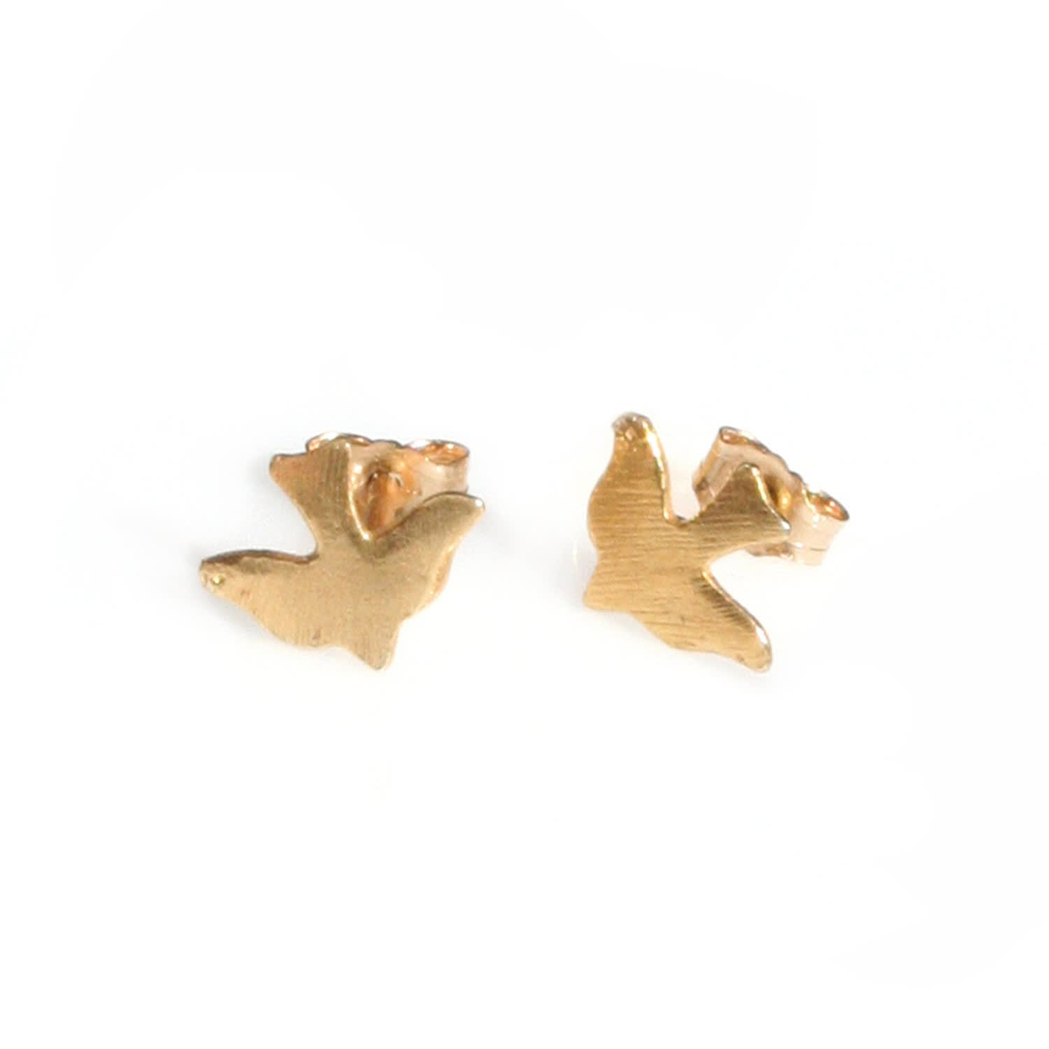 92091bc30 9ct Gold Bird Stud Earrings | Alice Eden | Wolf & Badger