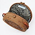 Sicily Round Basket Bag image