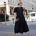 Tamara Cotton Dress Black image