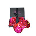 Painted Vase Silk Pillowcase & Eyemask image