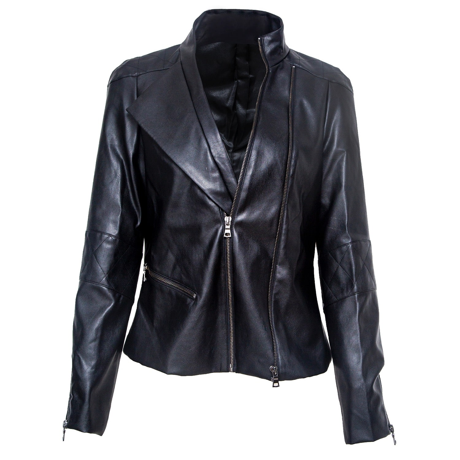 VHNY - Black Leather Look Jacket