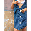 Reversible Striped Dress image