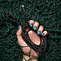 Ghost Net Black Recycled iPhone Cable Made Of Discarded Fishing Nets image