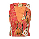 Womens Smoking Vest Peranakan image
