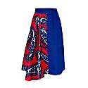 Blue & Red Skirt image