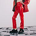 Plastic Pants Red image