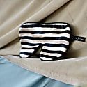 Striped Silk Eyeshade for Sleeping image