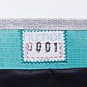 Fold Over Clutch 0001 With Grey Stripe image