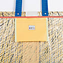 Tote Bag 0063 With Blue Bottom image