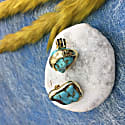 Turquoise Clip-On Earrings image