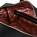 Vito - Medium Leather Travel Bag Black image