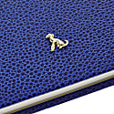 A4 Hard Cover (Hardy) Notebook The Rollo Collection Royal Blue image