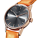 August Berg Serenity Rosegold Classic Ash & Orchid - Light Brown Leather 32mm image