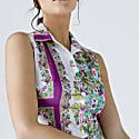 Floral Print Dress With Belt image