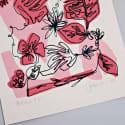 Pink Botanic Limited Edition Screen Print image