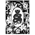 Elemental Cobra Print Black & White image