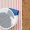 Diagonal Wall Basket in White image